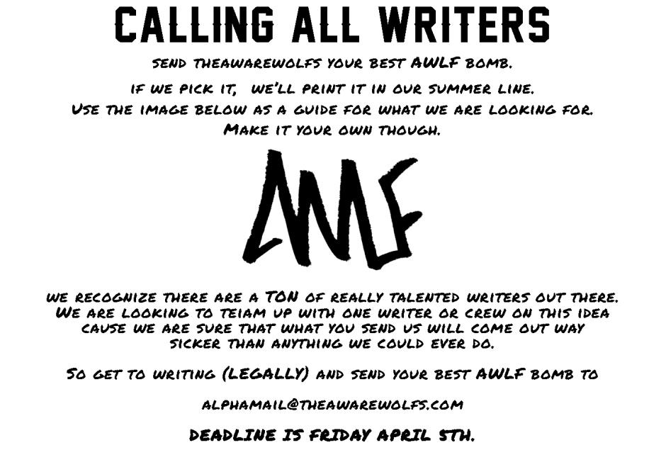 callingallwriters3