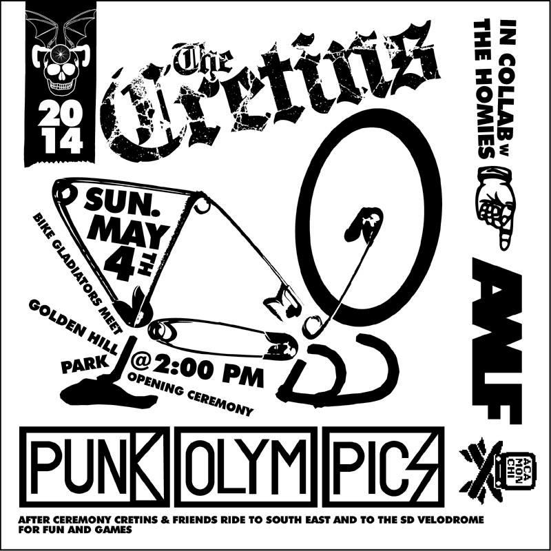 Punk Olympics SQUARE