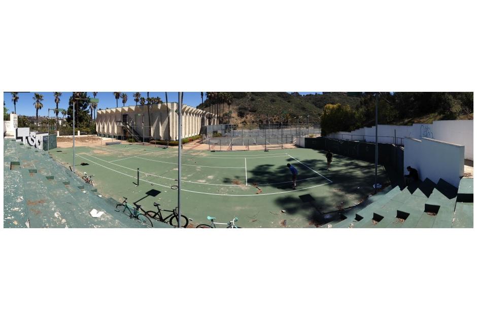 Secret Bike Polo Court